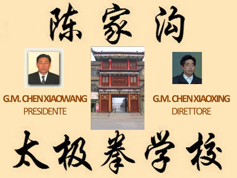 G.M. CHEN XIAOWANG PRESIDENTE G.M. CHEN XIAOXING DIRETTORE