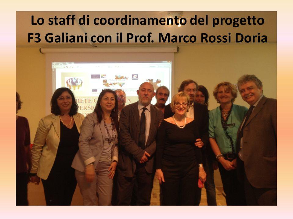 Lo staff di coordinamento del progetto
