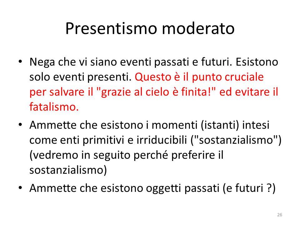 Presentismo moderato