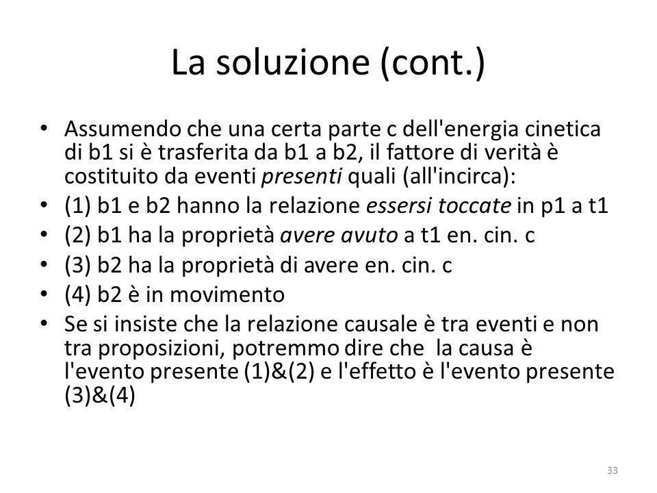 La soluzione (cont.)