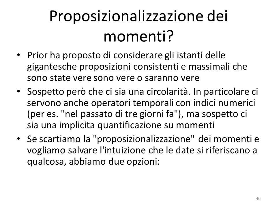 Proposizionalizzazione dei momenti