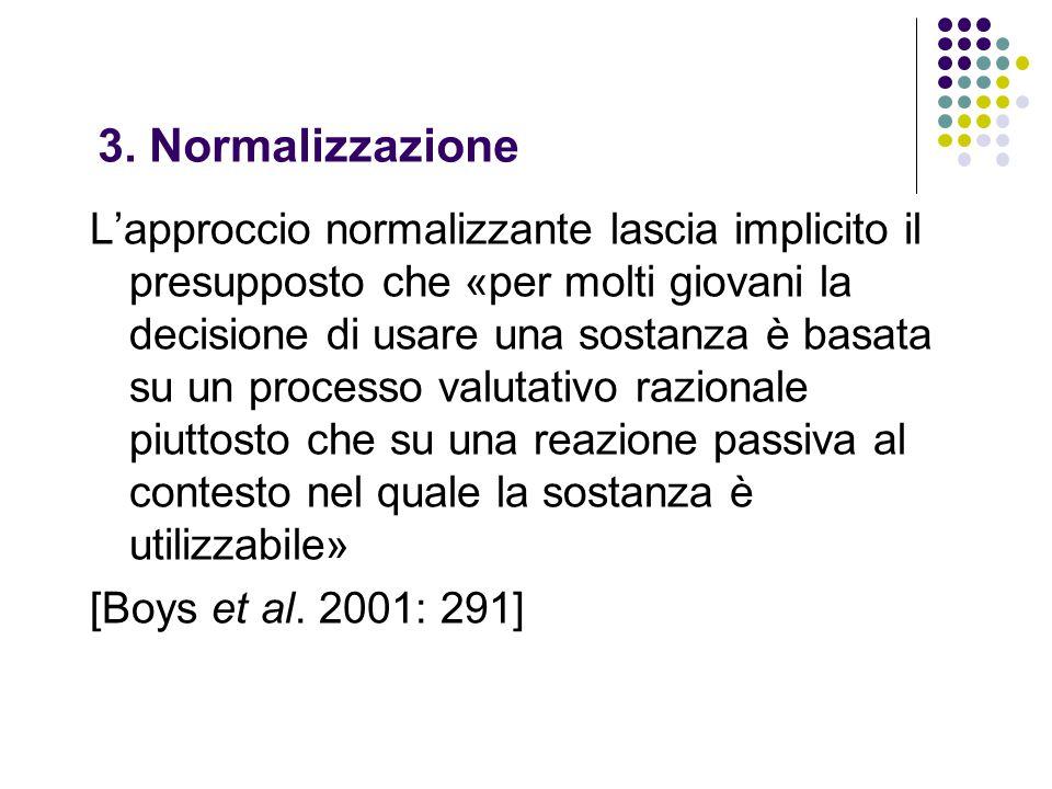 3. Normalizzazione