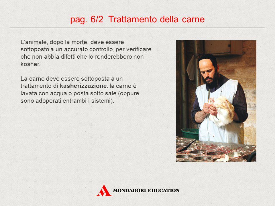pag. 6/2 Trattamento della carne