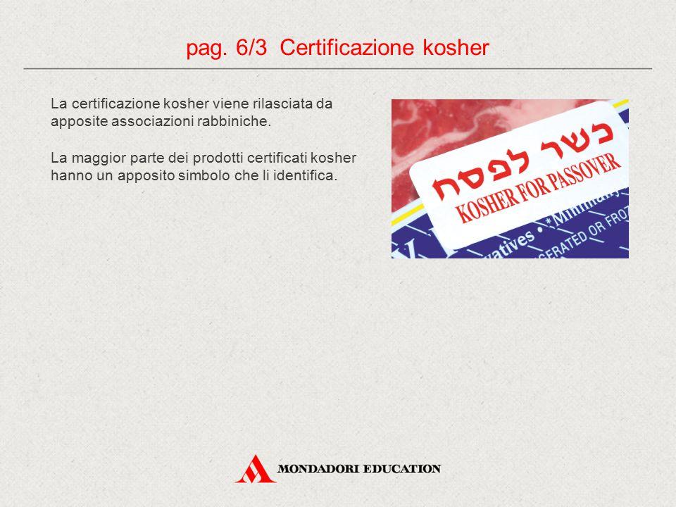 pag. 6/3 Certificazione kosher