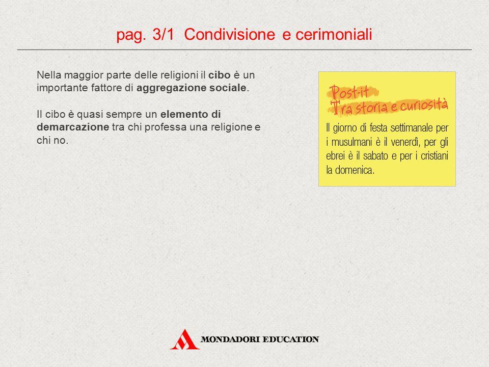 pag. 3/1 Condivisione e cerimoniali