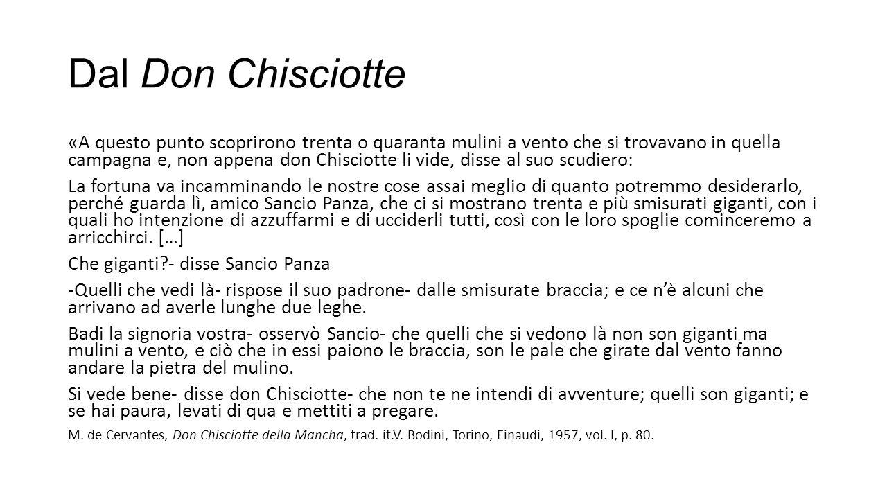 Dal Don Chisciotte