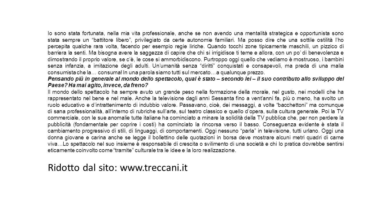 Ridotto dal sito: www.treccani.it