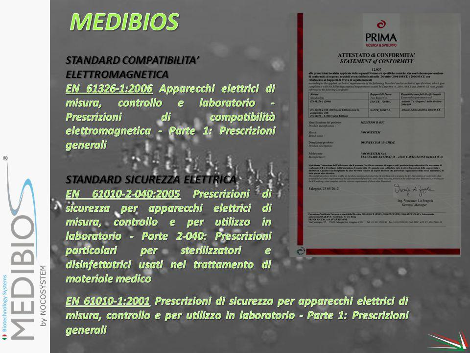 MEDIBIOS STANDARD SICUREZZA ELETTRICA