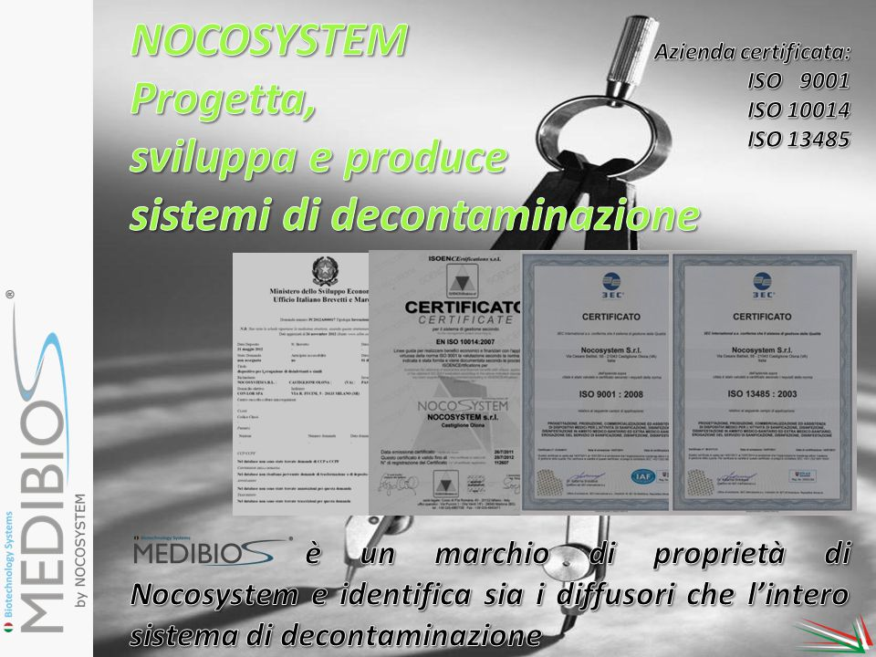 sistemi di decontaminazione