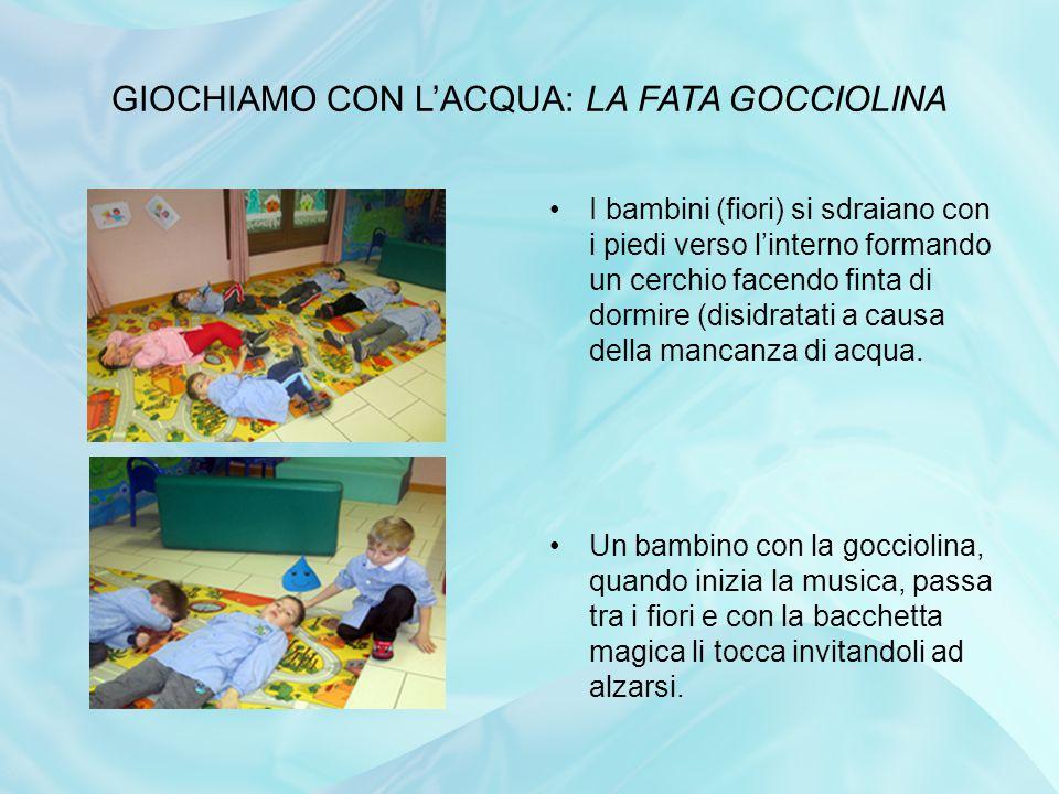 GIOCHIAMO CON L'ACQUA: LA FATA GOCCIOLINA