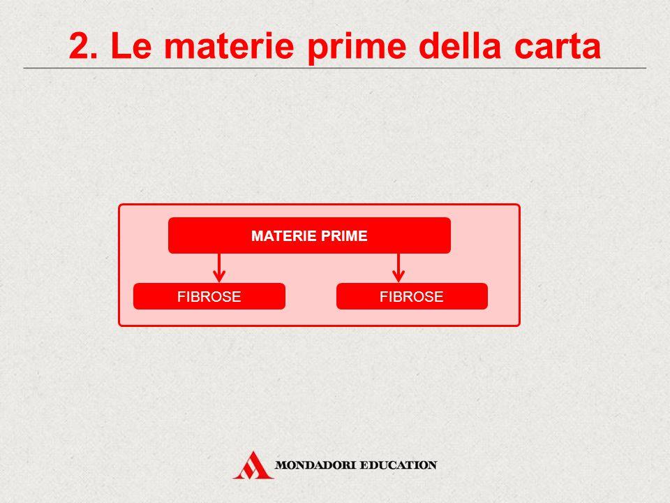 2. Le materie prime della carta