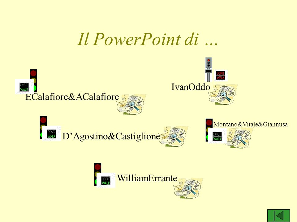 Il PowerPoint di … IvanOddo ECalafiore&ACalafiore