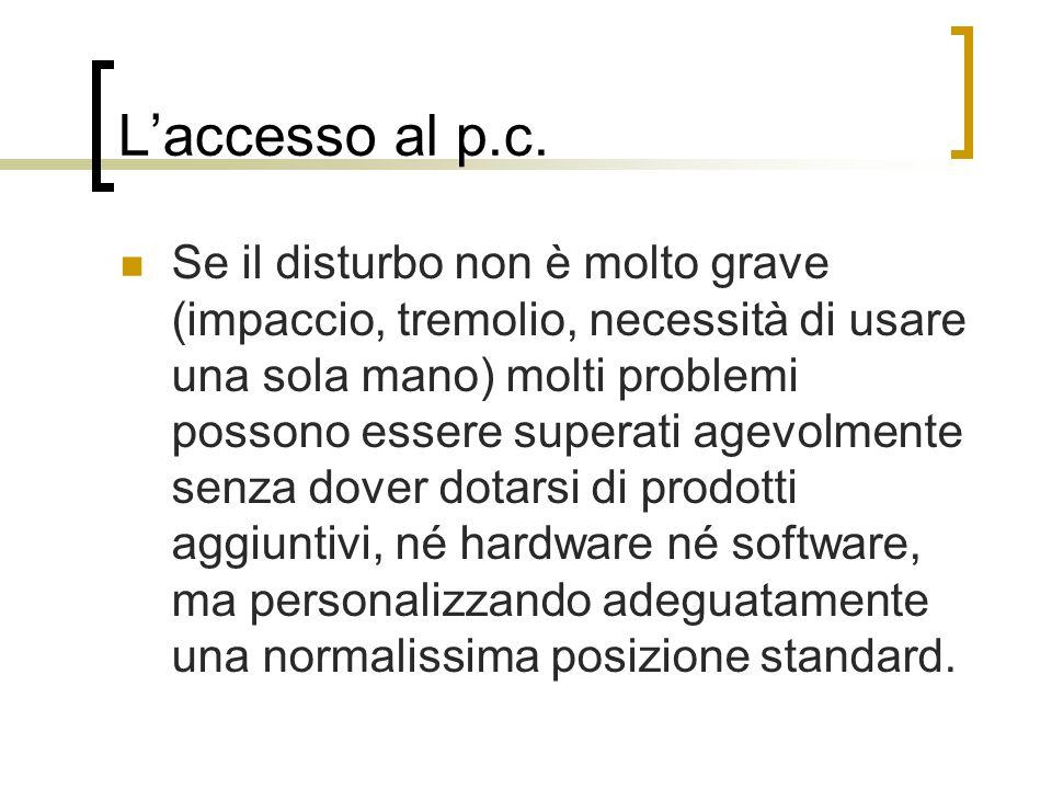 L'accesso al p.c.
