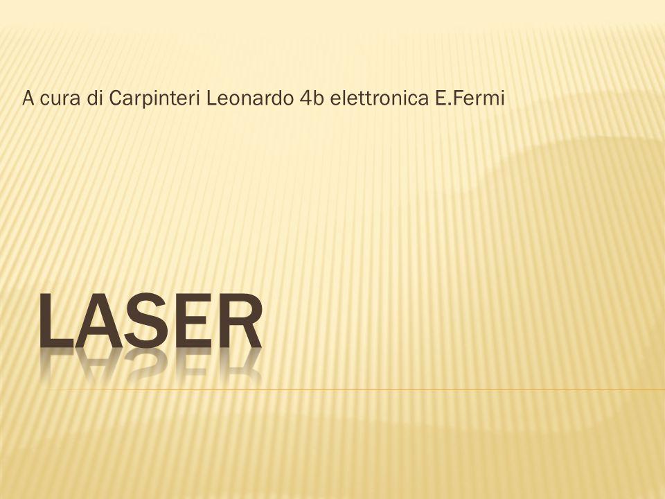 A cura di Carpinteri Leonardo 4b elettronica E.Fermi