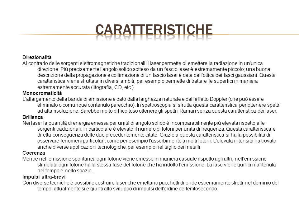 CARATTERISTICHE Direzionalità