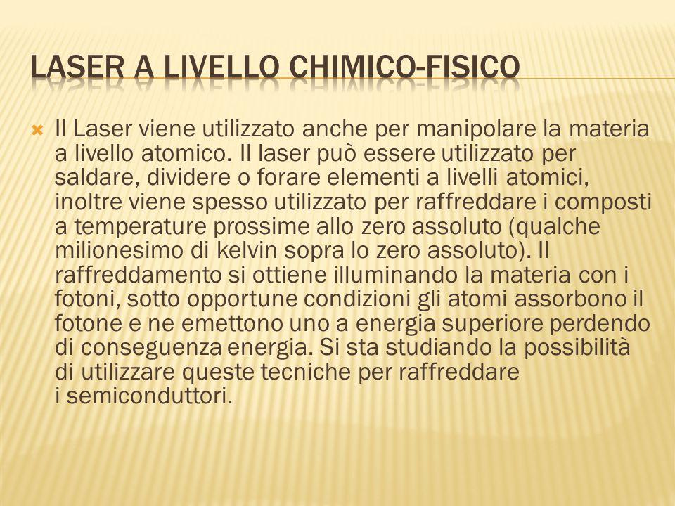Laser a livello chimico-fisico