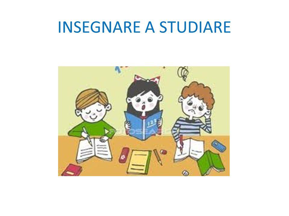 INSEGNARE A STUDIARE