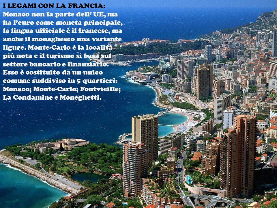 I LEGAMI CON LA FRANCIA: