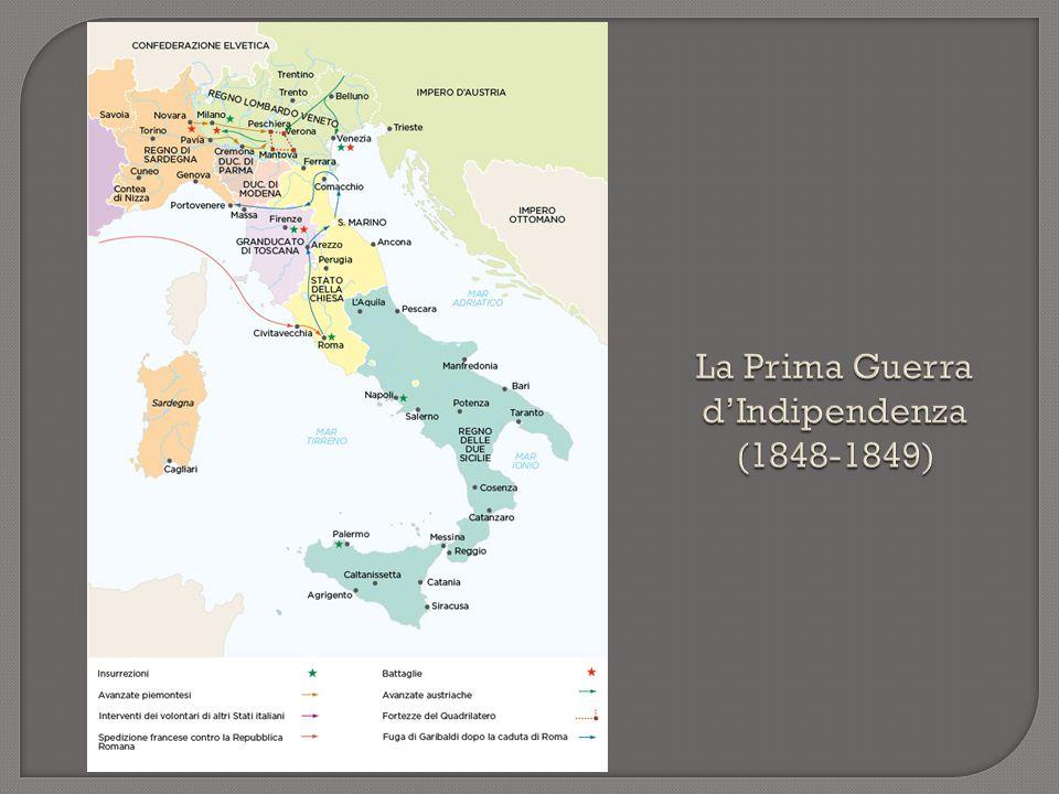 La Prima Guerra d'Indipendenza (1848-1849)