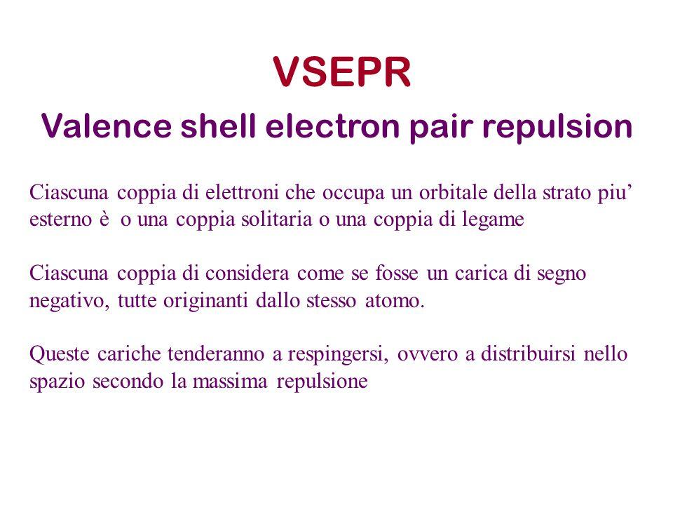 VSEPR Valence shell electron pair repulsion