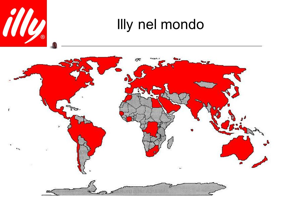 Illy nel mondo