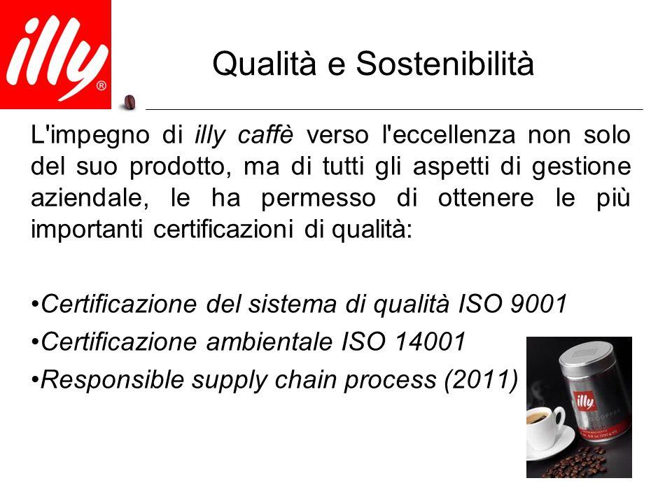 Qualità e Sostenibilità