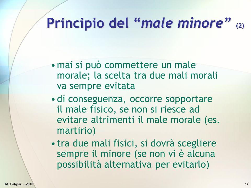 Principio del male minore (2)