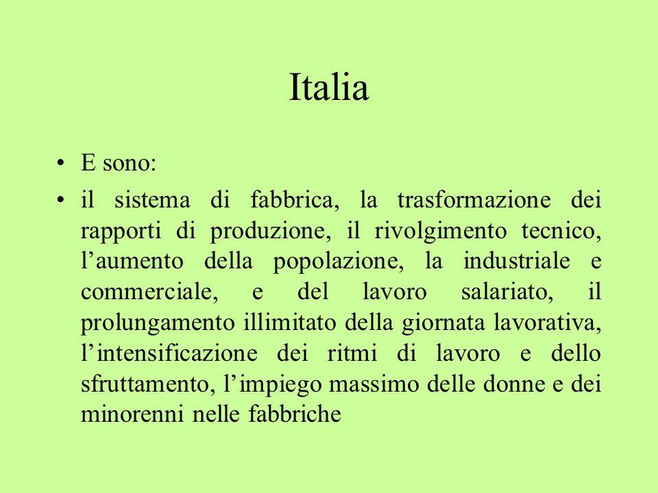 Italia E sono: