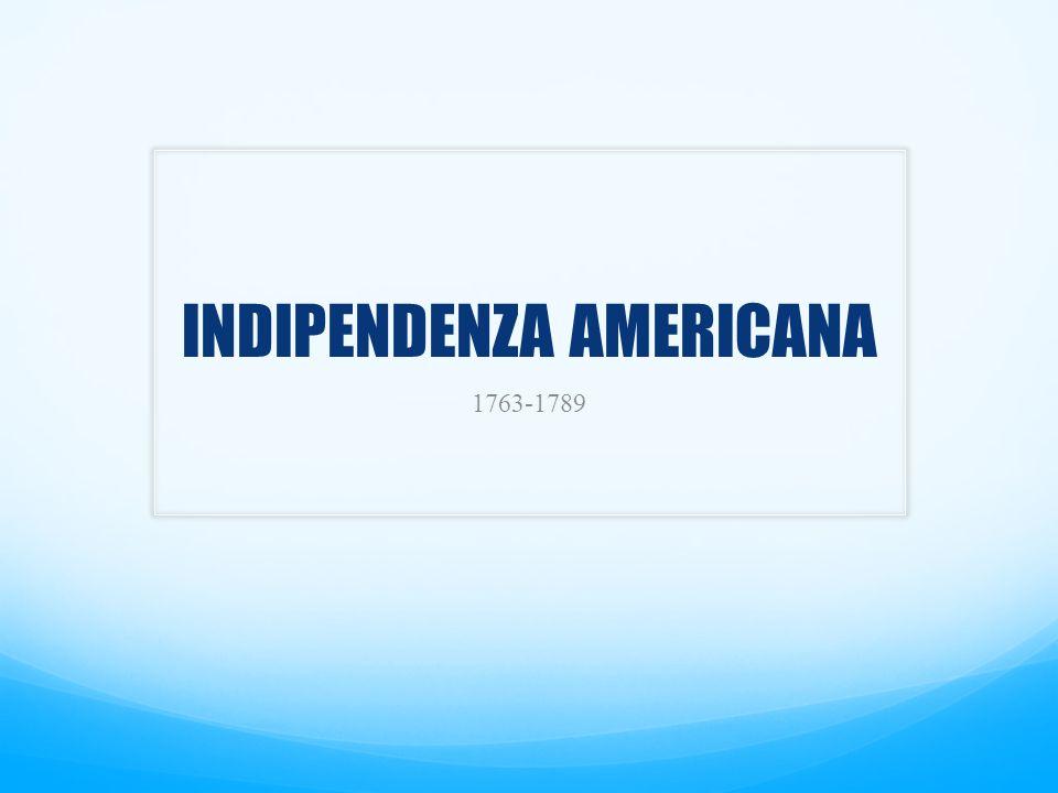 INDIPENDENZA AMERICANA