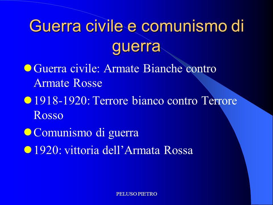 Guerra civile e comunismo di guerra