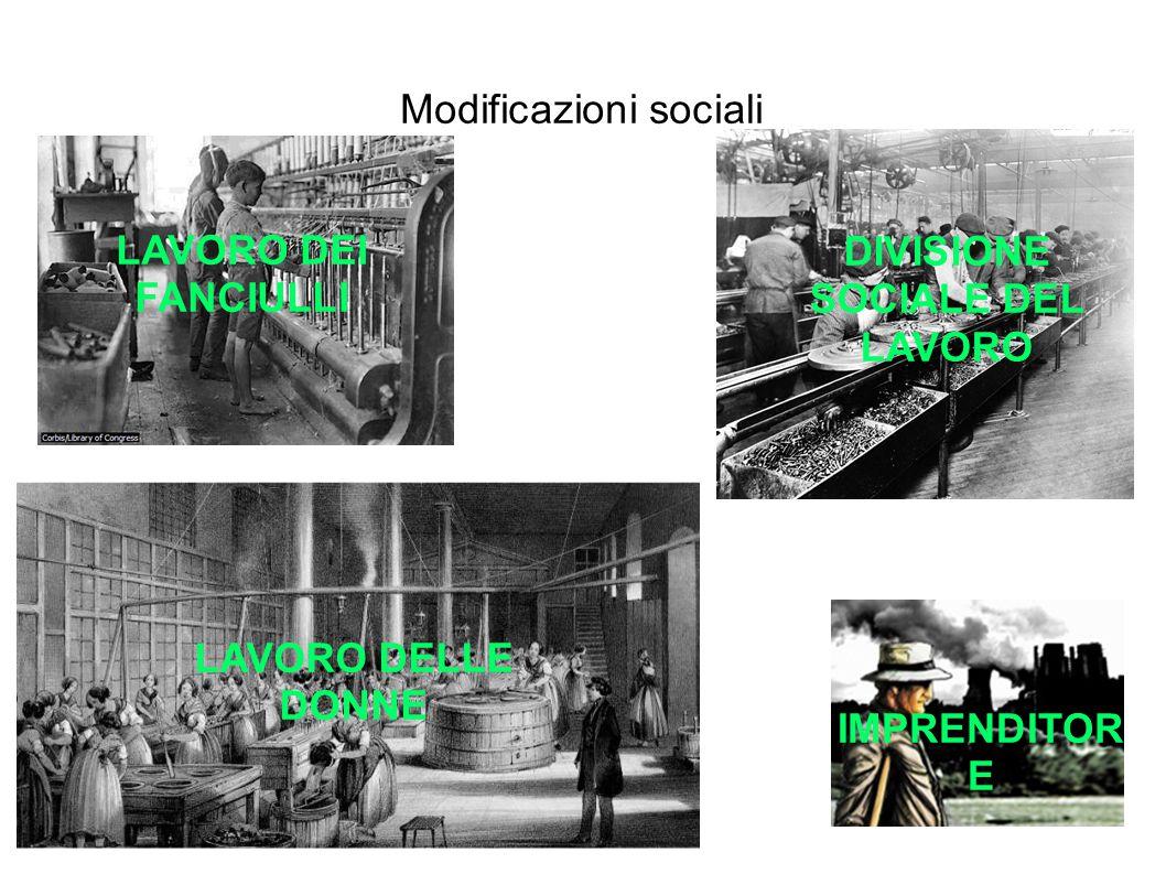 Modificazioni sociali