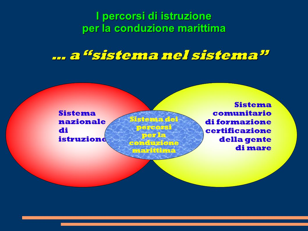 … a sistema nel sistema