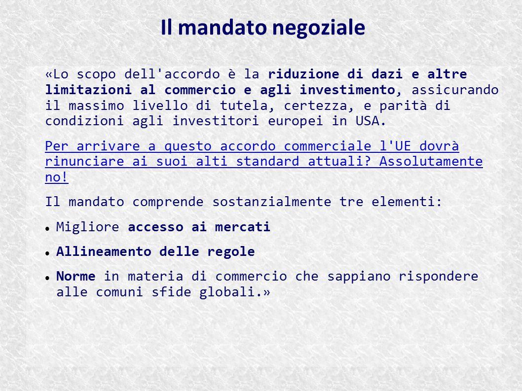 Il mandato negoziale