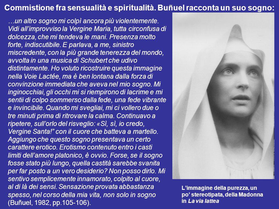 Commistione fra sensualità e spiritualità
