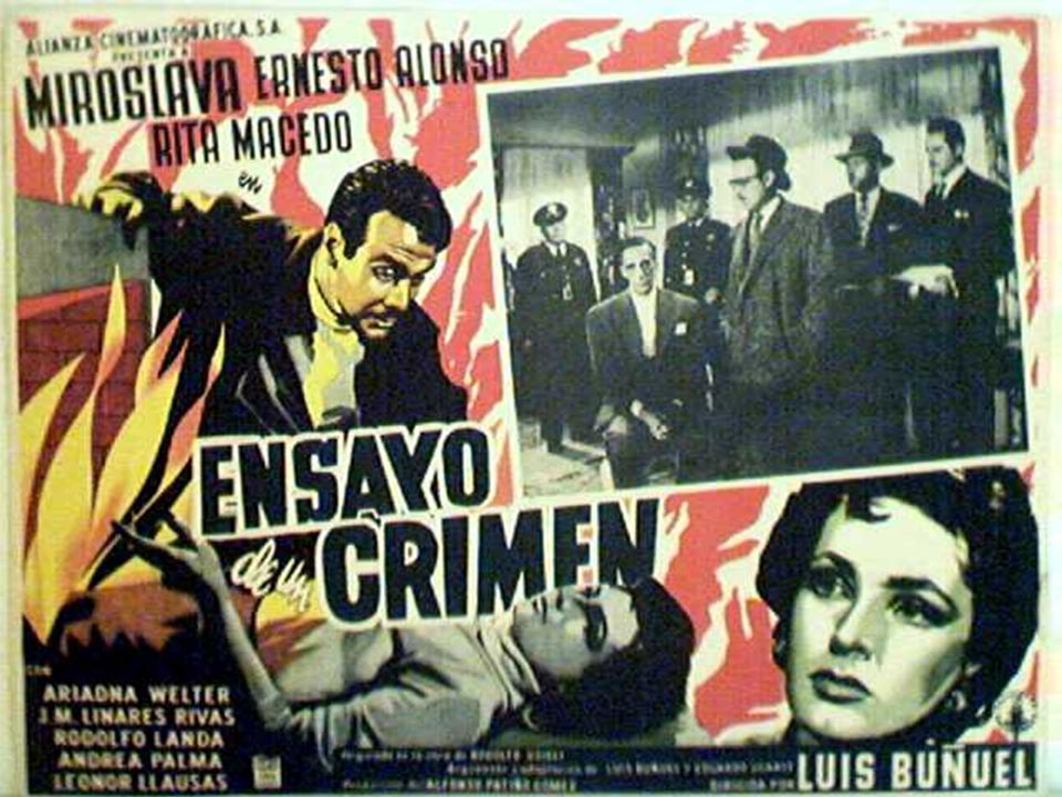 Luis Buñuel, Estasi di un delitto, 1955