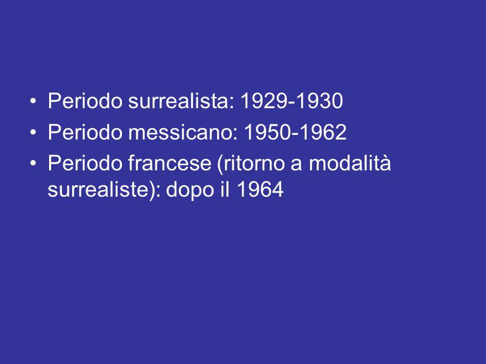 Periodo surrealista: 1929-1930