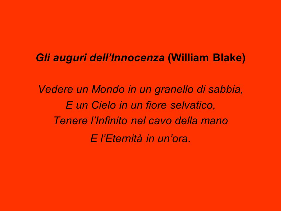 Gli auguri dell'Innocenza (William Blake)