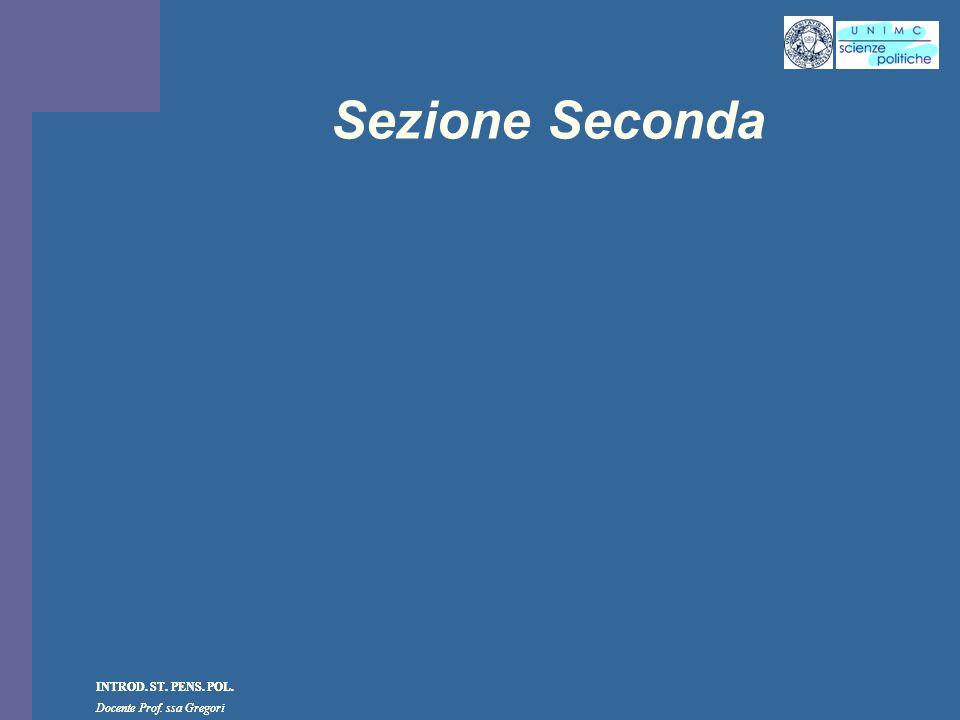 Sezione Seconda