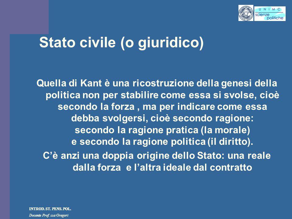 Stato civile (o giuridico)