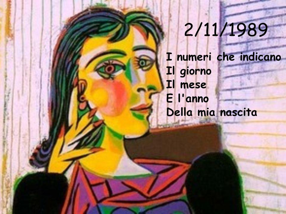 2/11/1989 I numeri che indicano Il giorno Il mese E l anno