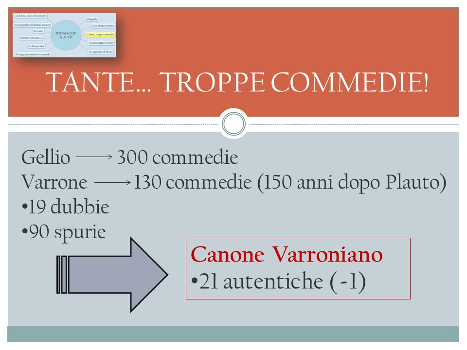 TANTE… TROPPE COMMEDIE!