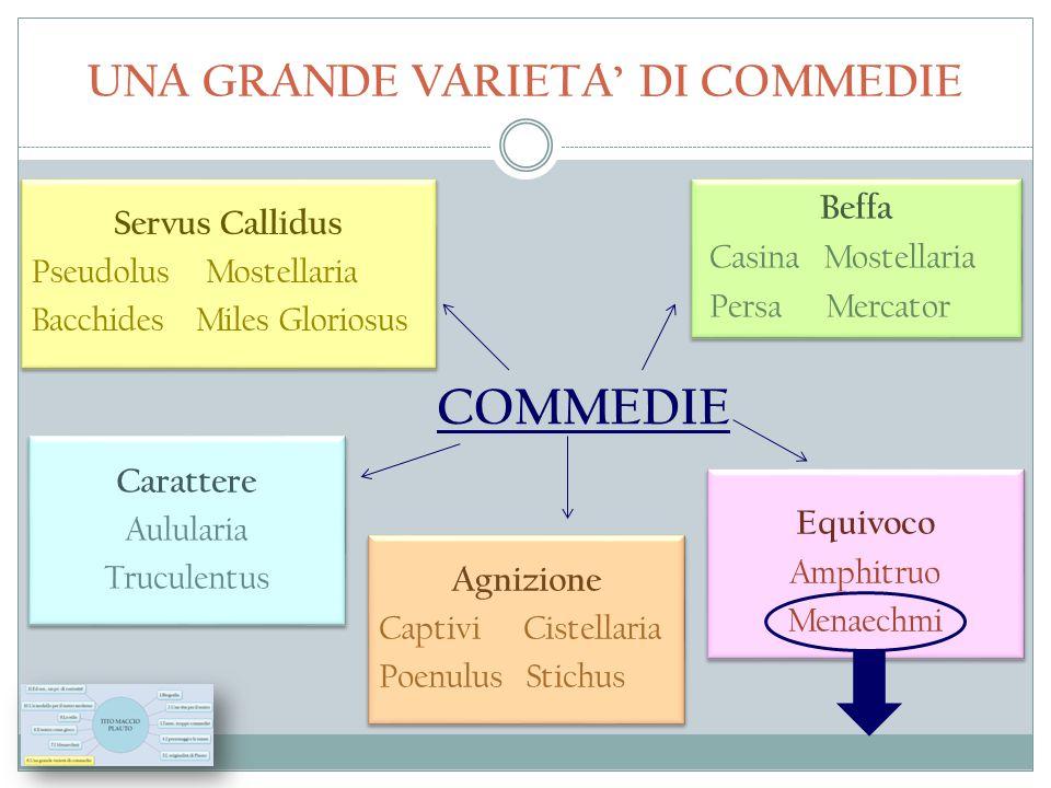UNA GRANDE VARIETA' DI COMMEDIE