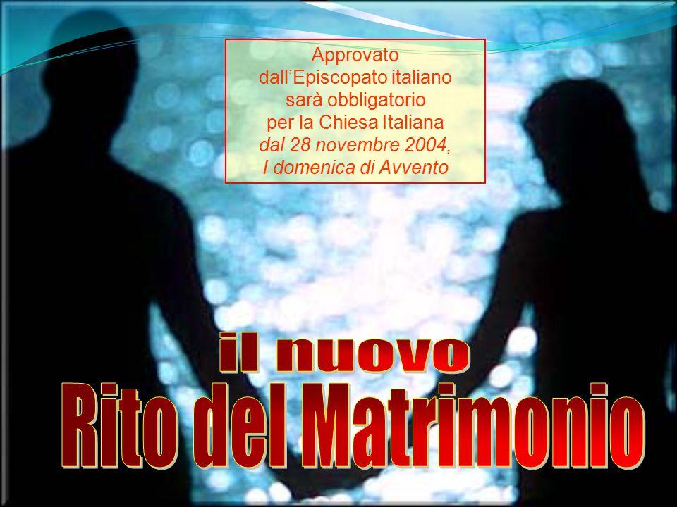 il nuovo Rito del Matrimonio