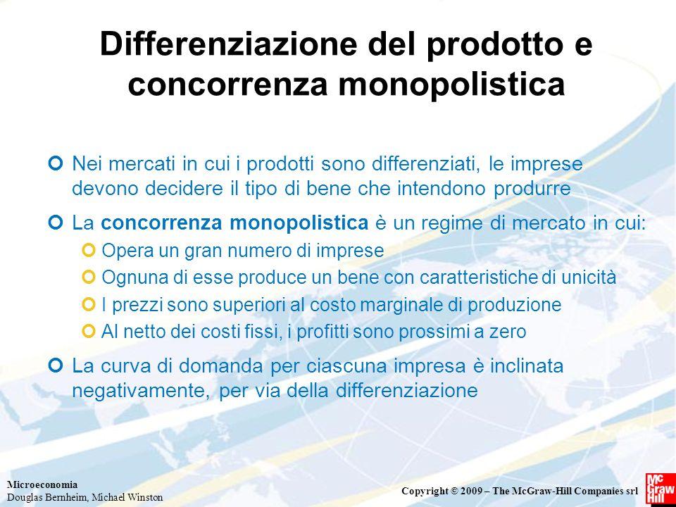 Differenziazione del prodotto e concorrenza monopolistica
