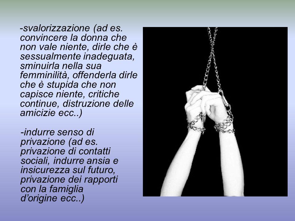-svalorizzazione (ad es