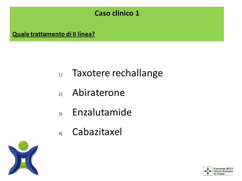 Taxotere rechallange Abiraterone Enzalutamide Cabazitaxel
