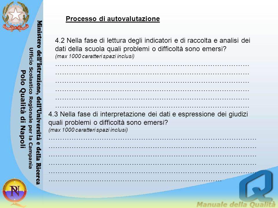 Processo di autovalutazione