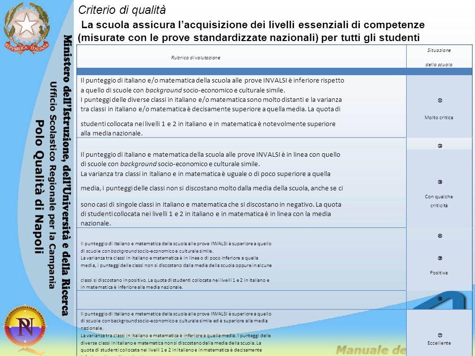 Criterio di qualità