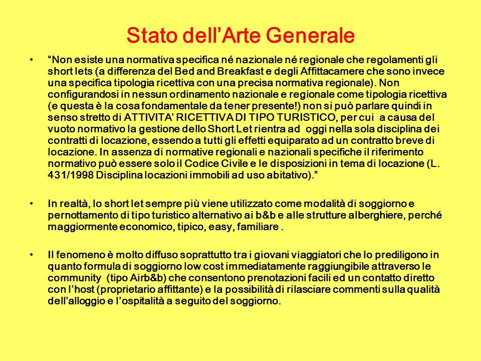 Stato dell'Arte Generale