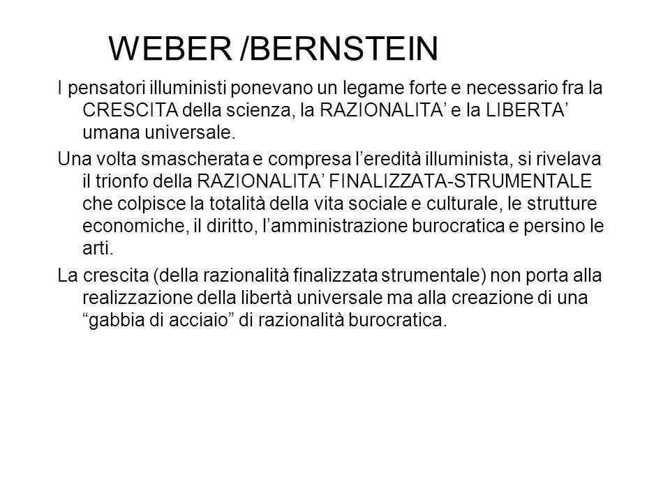WEBER /BERNSTEIN